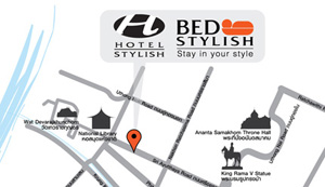Bed Stylish Map